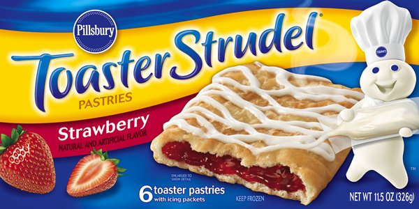 Toaster Strudel Verpackung