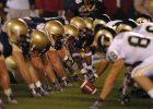 Line of Scrimmage bei einem NFL-Spiel
