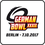 German Bowl 2017 Logo