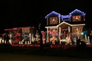 Ein dekoriertes Haus