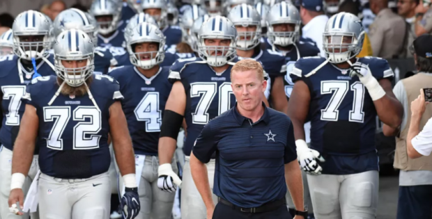Dallas Cowboys bei All Or Nothing 3