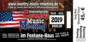 Country Music Meeting Earlybird Ticket