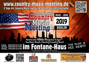Plan zum Country Music Meeting